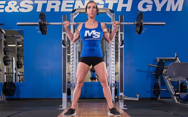 Build Strength with Heavy Negatives: Squats