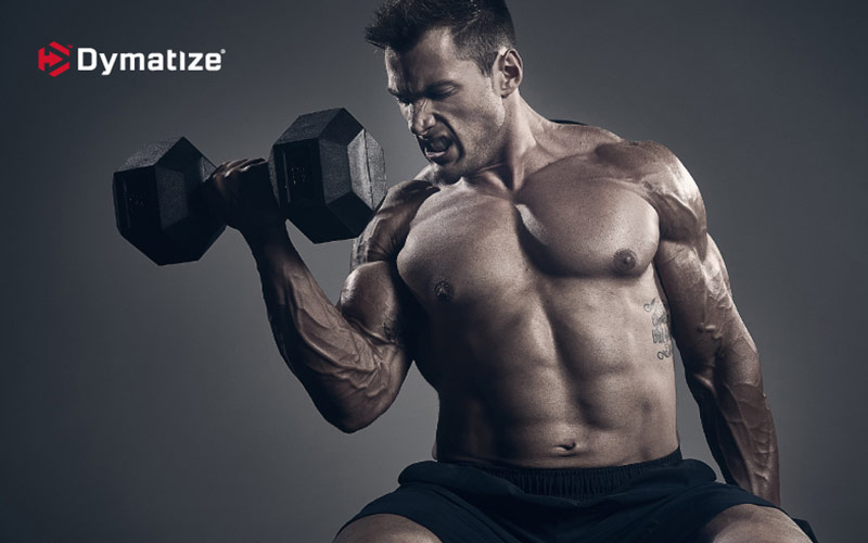 Dymatize Athlete Showing the effects of caffiene