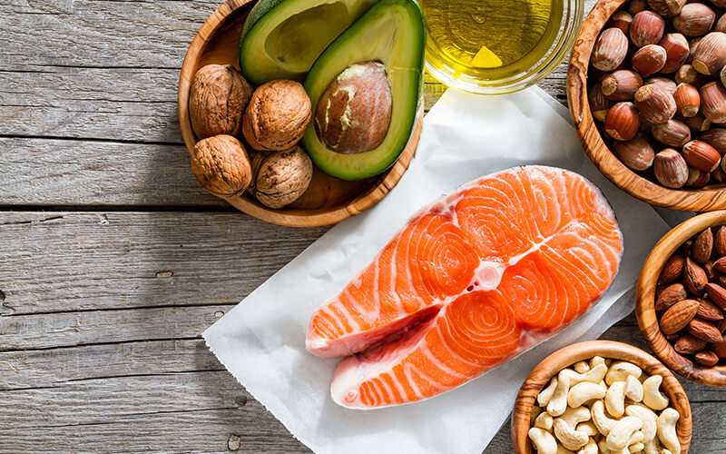 Fish and fats in the mediterranean diet