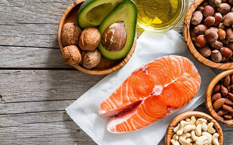 Foods rich in fatty acids