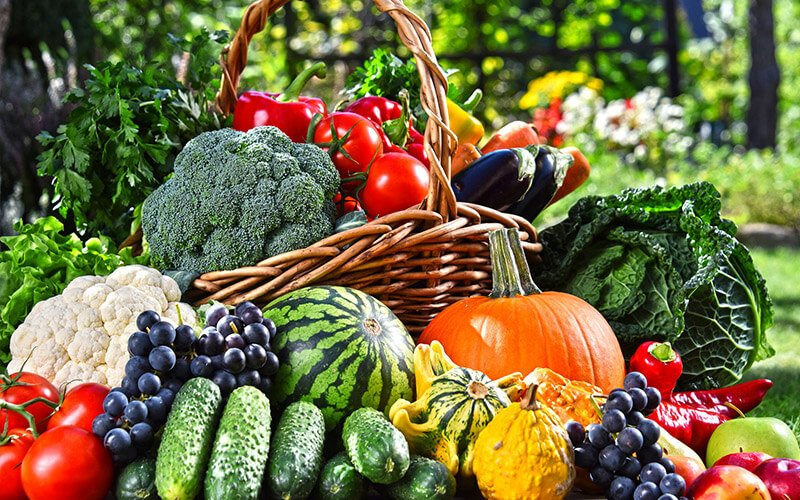 Fruits and Vegetables that are part of a Clean Eating Diet Plan