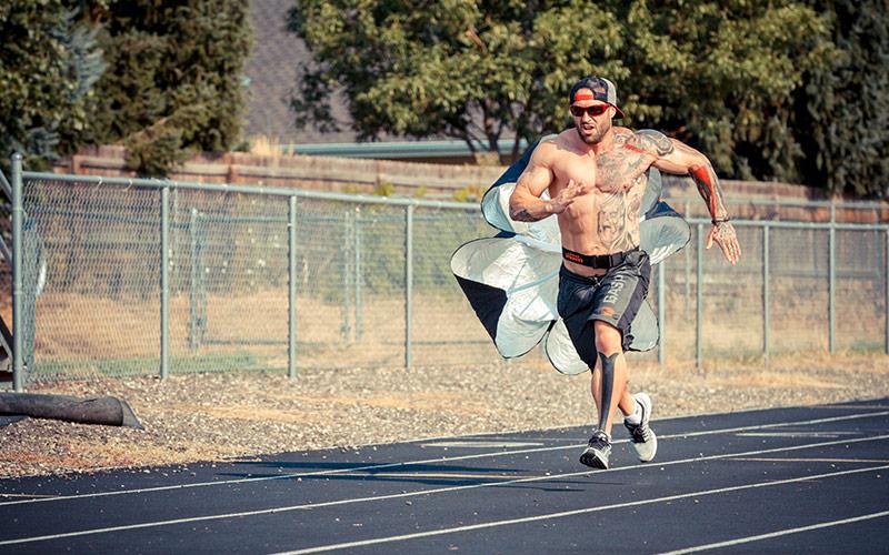 Kris Gethin Sprinting
