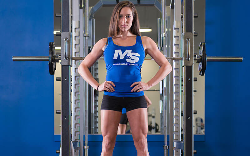 M&S Female Athlete With Hands on her hips