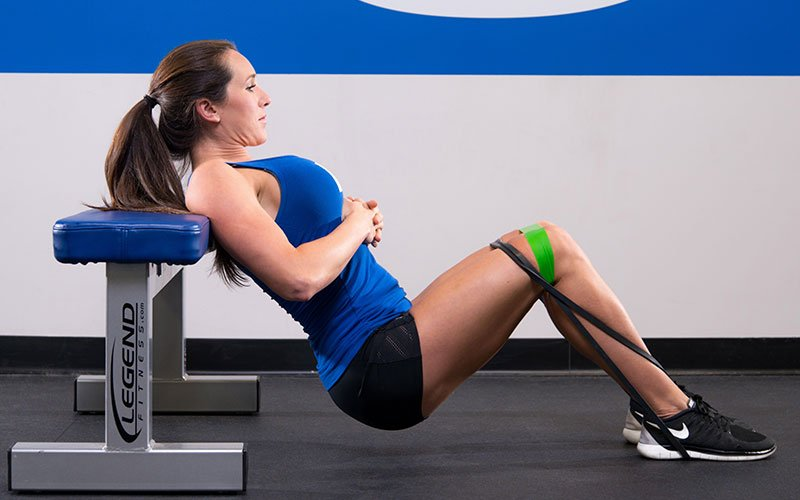 Muscle & Strength Athlete Working her Glutes