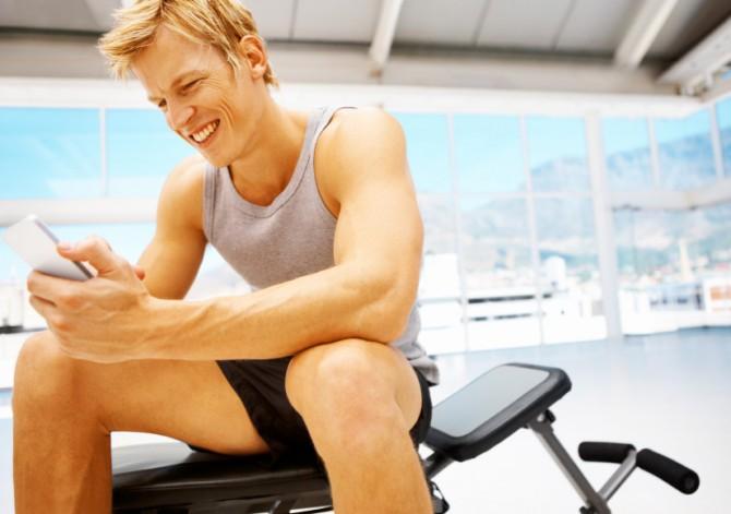 Gym Texting