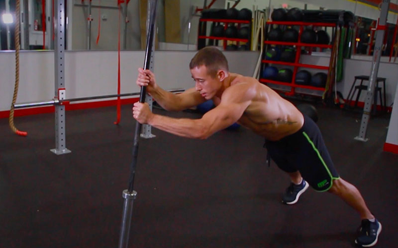 10 Hardest Core Exercises: Barbell Climb