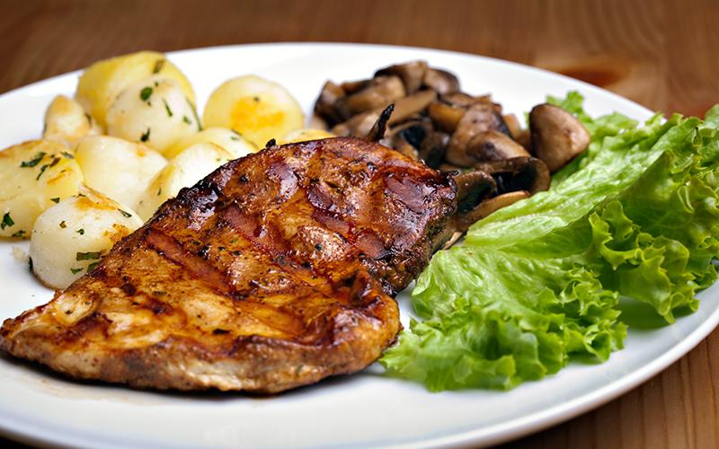 Chicken Breast Plate Healthy