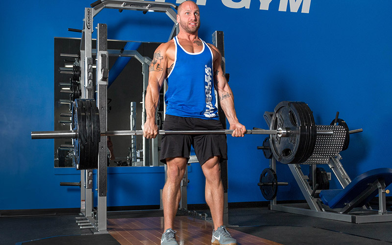 Mechanical Tension Heavy Deadlift
