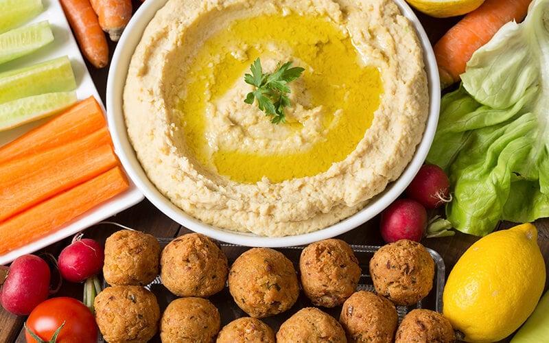 Hummas and Falafel
