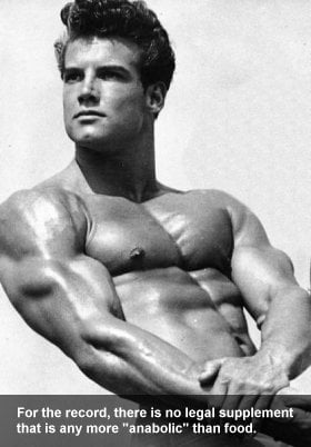 Steve Reeves Natural Bodybuilder