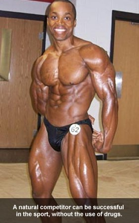 Natural Bodybuilder Daniel Grissom