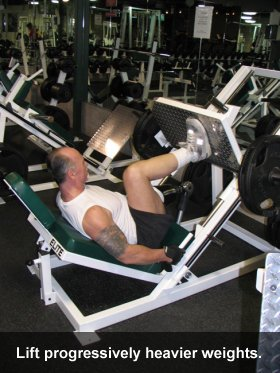 Errol Hannigan Leg Press