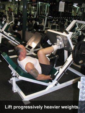 Errol Hannigan Leg Press