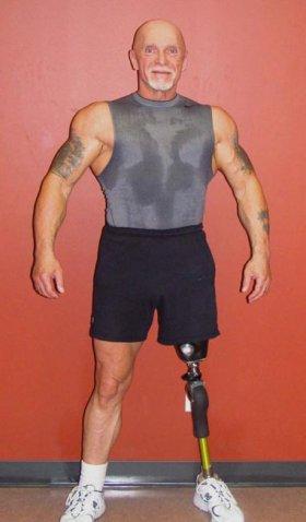 Errol Hannigan Senior Bodybuilder