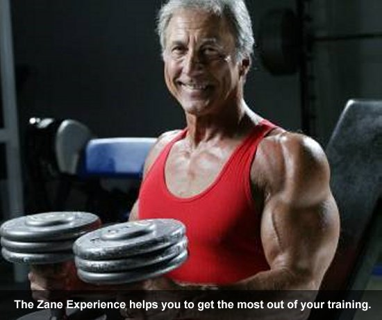 The Zane Experience helps you to get the most out of your training.