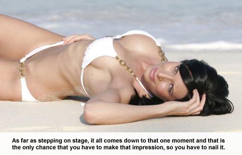 Nadine Dumas Swimsuit Model