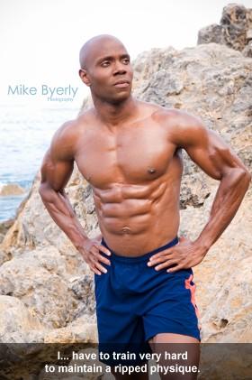 Obi Obadike Male Fitness Mdel