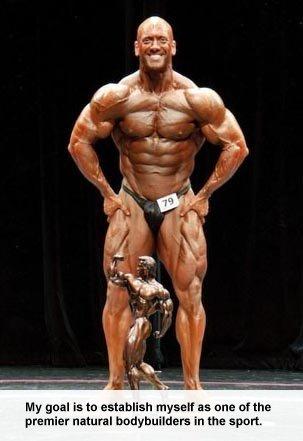 Pro Bodybuilder Tim Martin