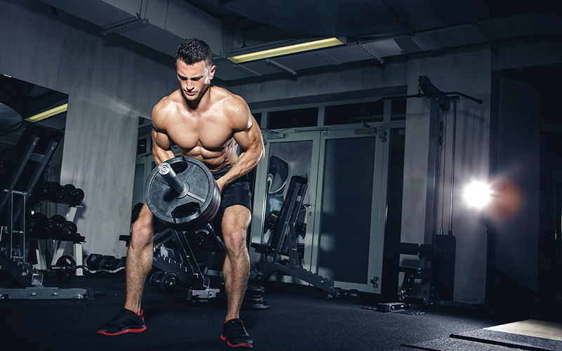 T-bar rows for size and strength