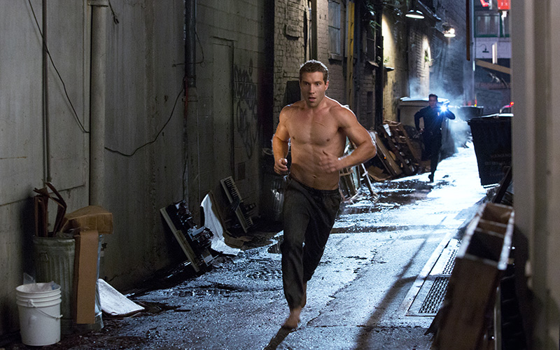 Jai Courtney workout for a ripped physique