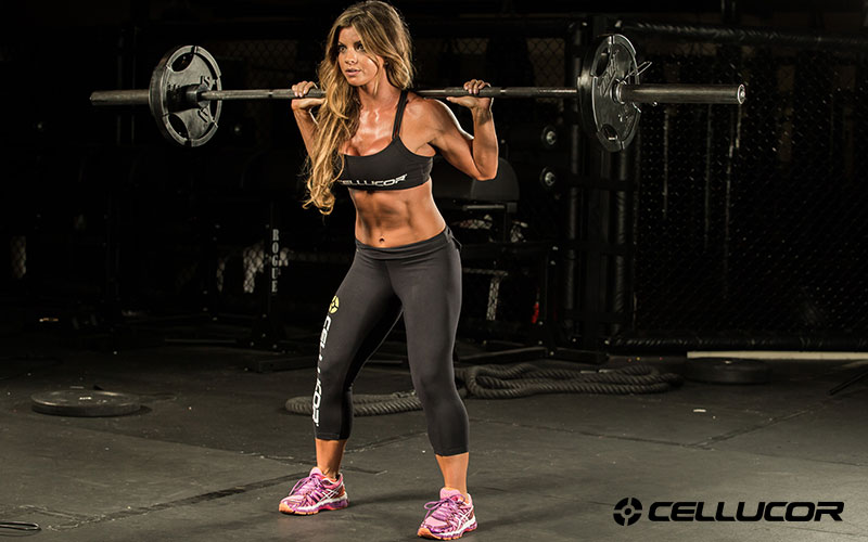 Jen Jewell redefining squat strength