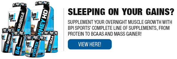 BPI Sports Complete Line of Supplements