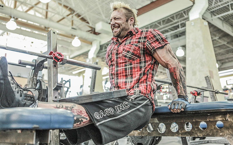 Kris Gethin Stressing Perfect Form