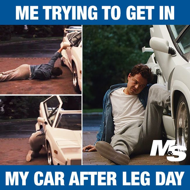 And Getting In The Car Is A Workout Itself