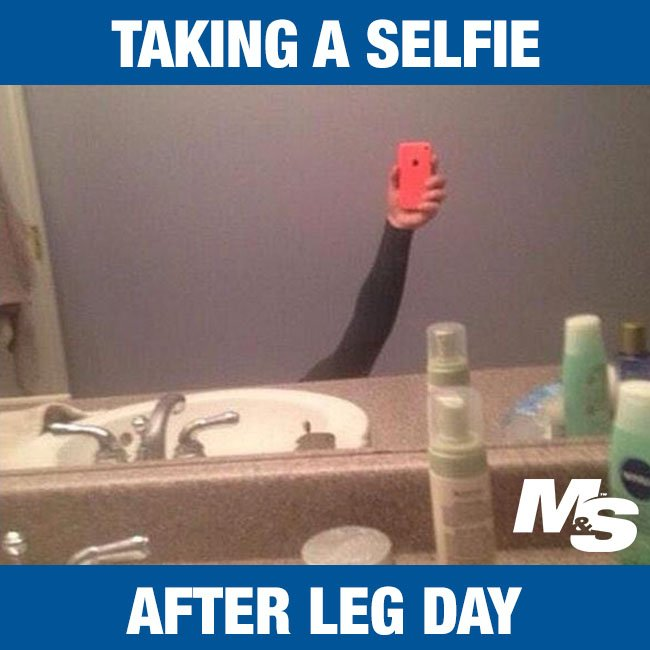 Image result for leg day meme