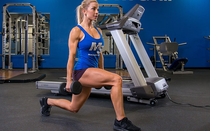 Leg Training for Women: Do compound moves like lunges