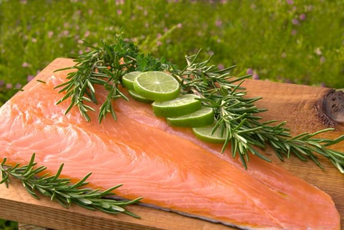 Lime Salmon