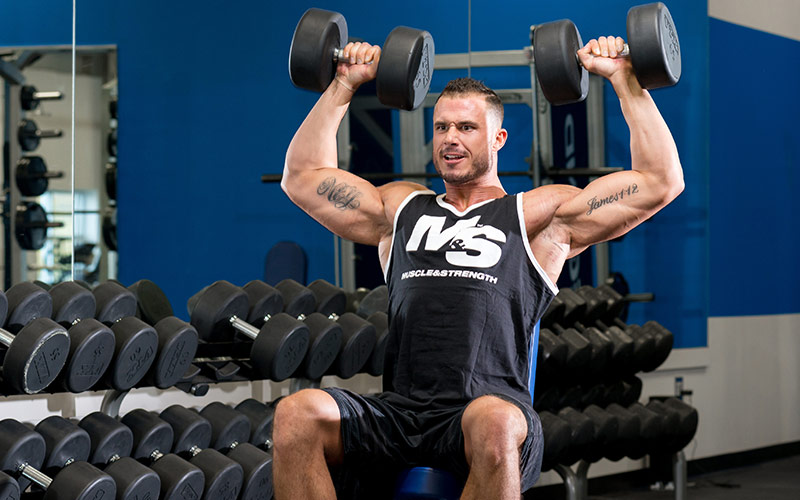 Mass Builder Shoulder Press