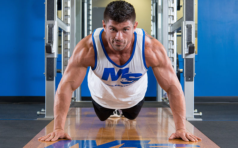 Build a Massive Chest Pushups