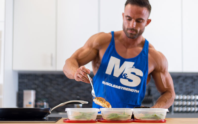 Meal Prep For A Lean Muscle Bulk Diet