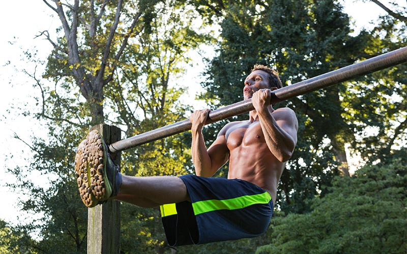 MFT Training: Chin Up Bar Hangs