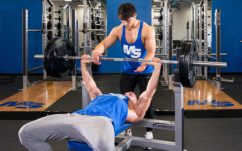 Micro-progression Bench Press