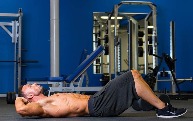 Rules for Morning Workouts: Warm up your abs!