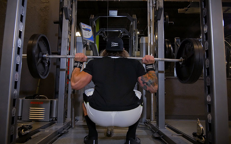 5 exercises for athletic performance back squat