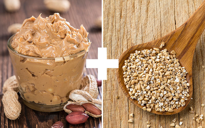 Oats and Peanut Butter