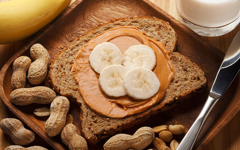 Banana And Natural Nut Butter