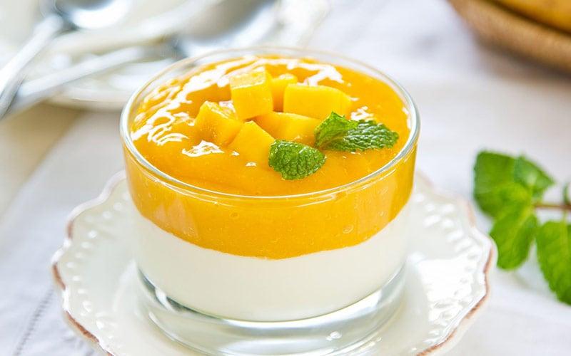 healthy fruit salad for breakfast tropical fruit
