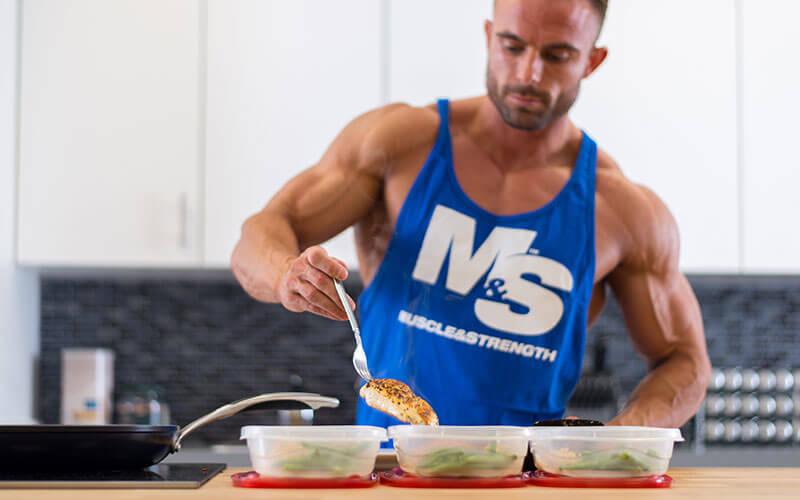 Dymatize Athlete Brett Kahn Meal Prepping for a Successful Diet