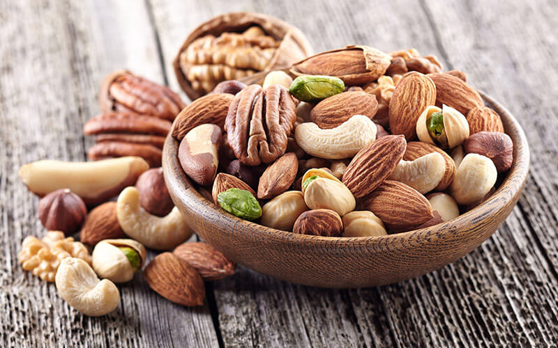 Nuts that are part of a Keto Diet Plan