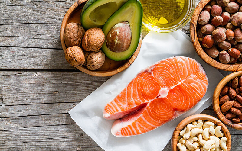 Omega 3's help with inflamation