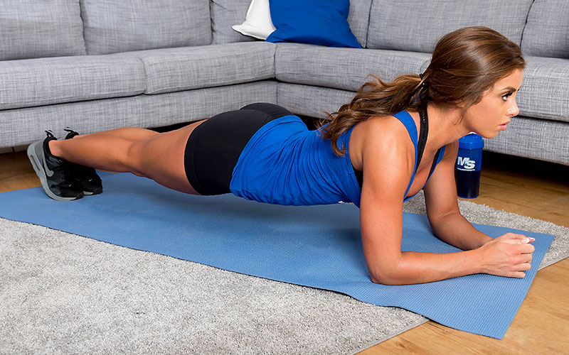 20 Minute At Home Full Body Workout Program   -  EMOM Training Plank