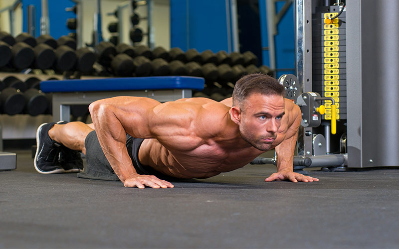 Plyometric push ups for muscle growth