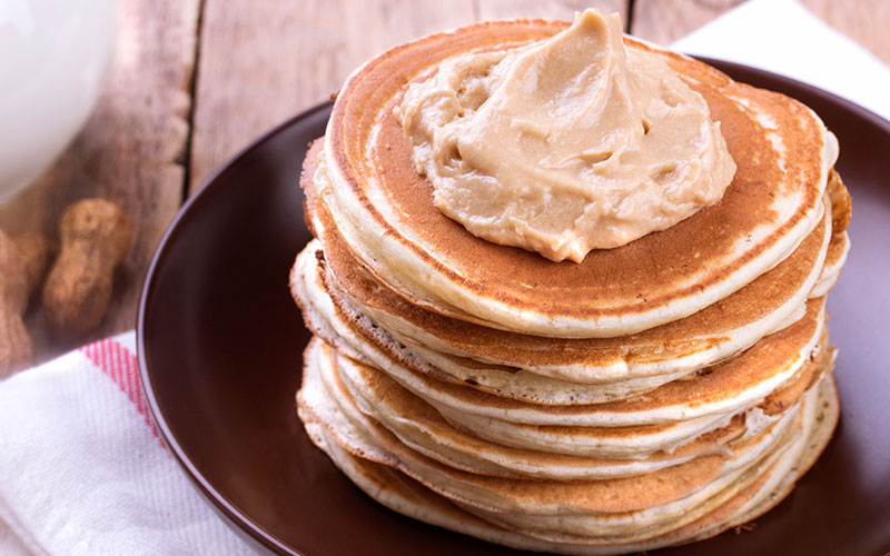 Protein pancakes for a pre-workout meal