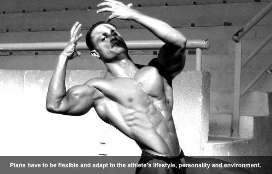 Natural Bodybuilder Omar Raissouni