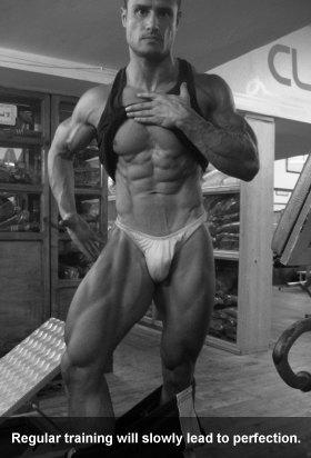 Regular Bodybuilding Training