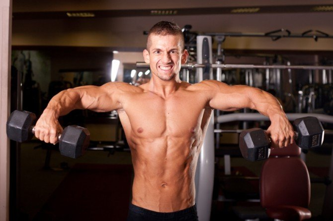 Dumbbell Laterals